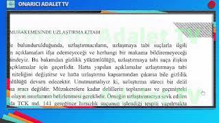 AÇDB UZLAŞTIRMACI EĞİTİM YENİ KİTAP -(145--156 Say.) Av.Aysun Tıraş'ın Sesinden SESLİ DİNLE