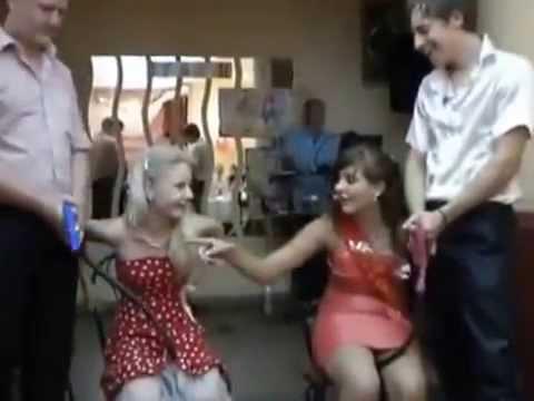 Прикольные конкурсы видео на свадьбах