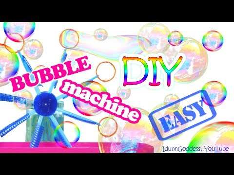 Thumbnail: How To Make a Bubble Machine – DIY Bubble Machine Out Of Plastic Cups, Bottles and Drinking Straws