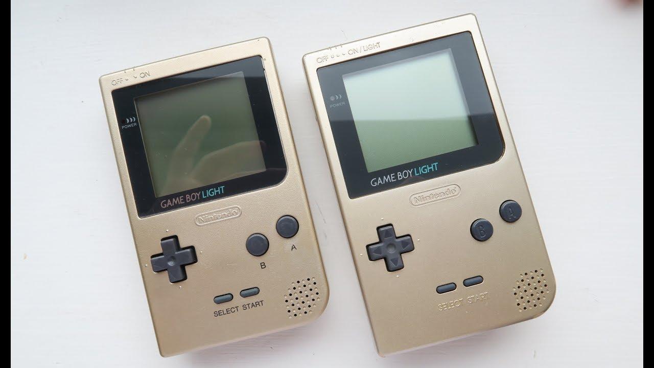 Let's Mod! - GameBoy Pocket to GameBoy Light!