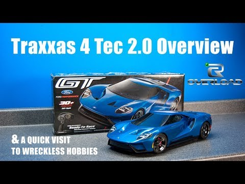 Traxxas 4 Tec 2.0 Overview And A Quick Stop By Wreckless Hobbies