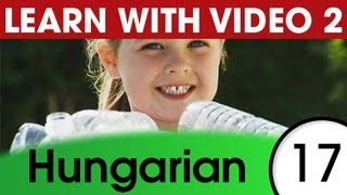 Learn Hungarian with Pictures and Video - Hungarian Expressions That Help with the Housework 1