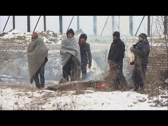 Los inmigrantes sufren una ola de frio