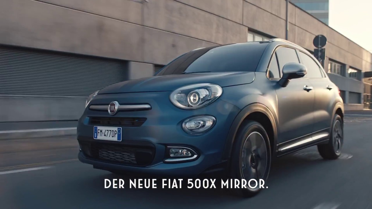 the new fiat 500 x mirror family meet the apple carplay. Black Bedroom Furniture Sets. Home Design Ideas