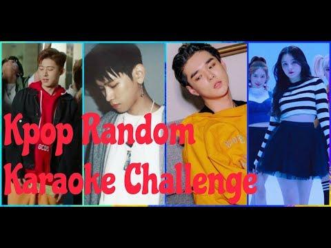 KPOP RANDOM KARAOKE CHALLENGE #8 [Chorus ver]