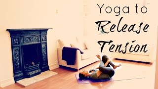 20 Min Yoga for Stress & Tension | Yoga for Anxiety and Stress Relief | ChriskaYoga