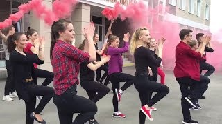 Хайпанем немножечко! / Флешмоб танец Последний звонок ВЫПУСК 2017 АКПЛ, Барнаул