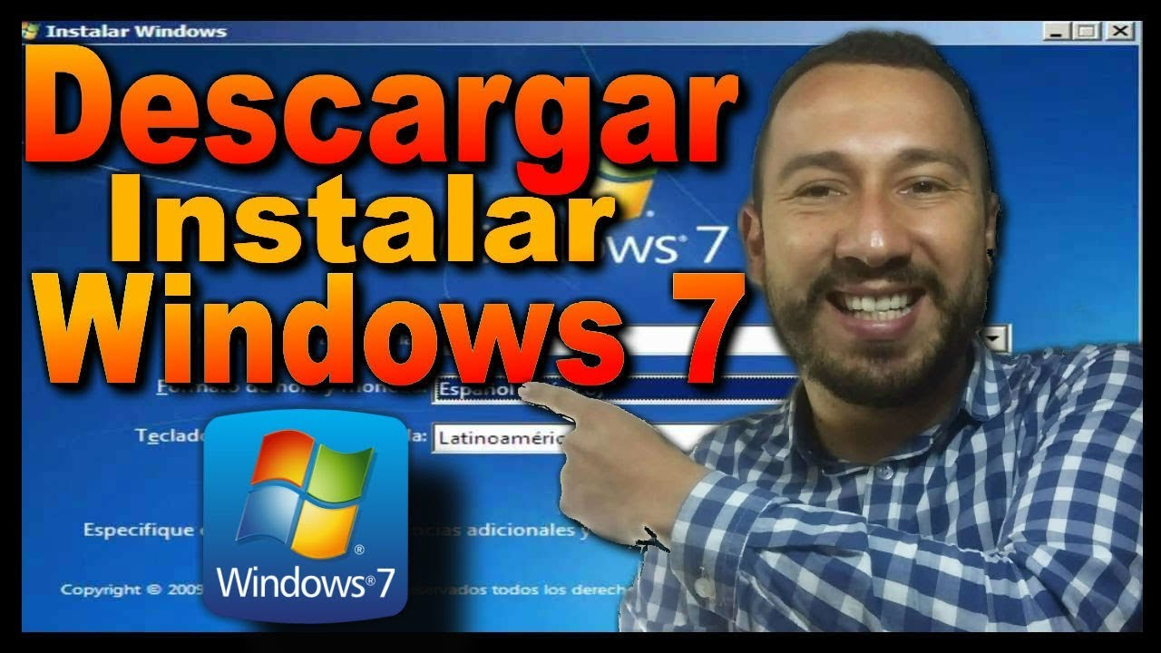 Descargar WINDOWS 7 / Formatear e Instalar Wi… ✅✅✅
