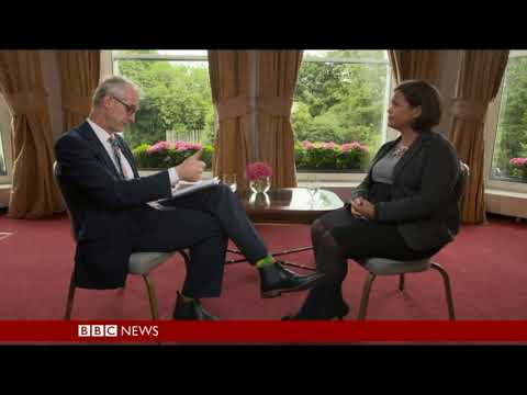 Mary Lou takes on BBC HARDtalk programme