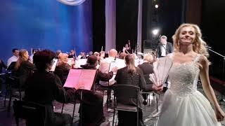 Первый концерт в театре после карантина...