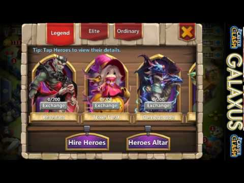 |:|Best Hero Combo???|:| New Hero Revenant In-Action With A Life Drain Skull Knight(Castle Clash)