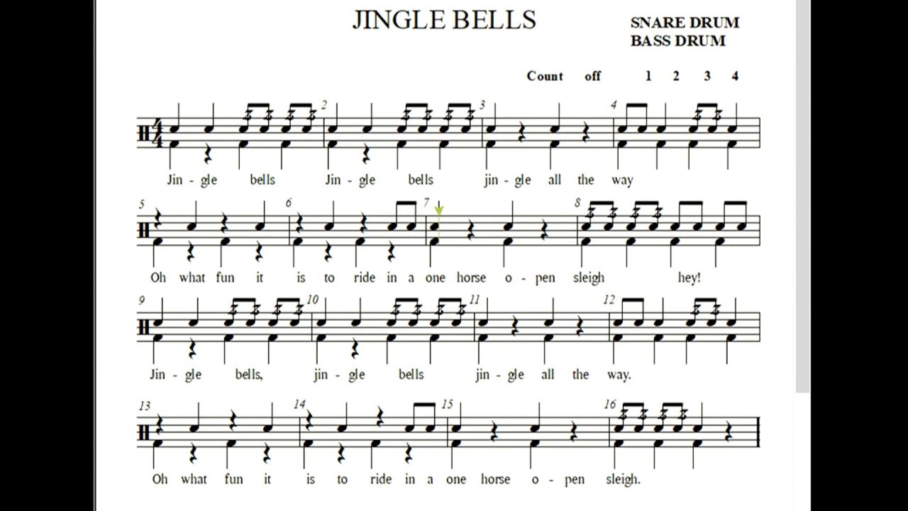 hvb jingle bells drums youtube