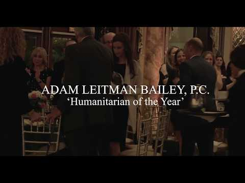 New Milford High School Presents Adam Leitman Bailey with the Humanitarian of the Year Award