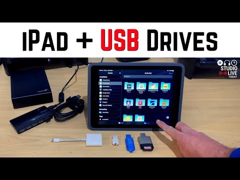 How To Use USB Drives With An IPad/iPhone