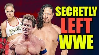 10 WWE Wrestlers Who SECRETLY Retired In 2019!