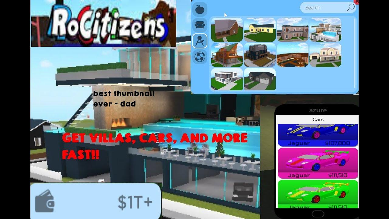New Rocitizens Money Glitch 2020 Roblox Working Youtube