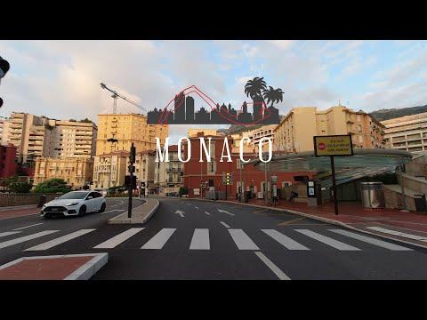 DRIVING DOWNTOWN MONACO 🇲🇨