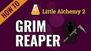 How to make GŔIM REAPER in Little Alchemy 2