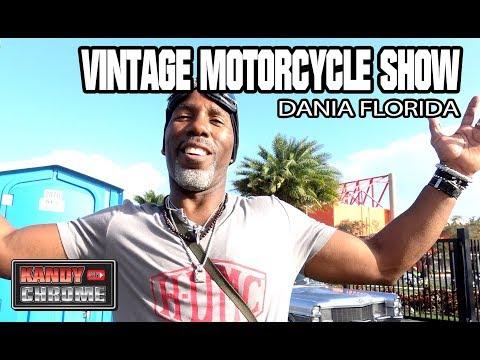 KandyonChrome: 12th Annual Vintage Motorcycle Show Dania Florida 2018