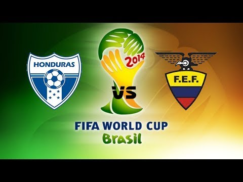 EA SPORTS 2014 FIFA World Cup Brazil - Honduras vs Ecuador - Grupo E