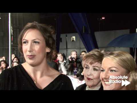 Miranda: cast interview at National TV Awards 2012