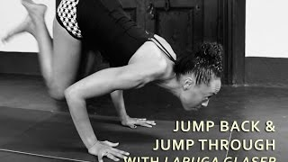 Jumpback and Jumpthrough (Ashtanga Yoga) with Laruga Glaser