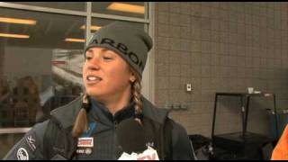 2010 Olympic Preview: Megan Sweeney - USA Luge
