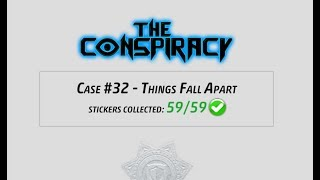 Criminal Case - The Conspiracy, Case 32 - Things Fall Apart