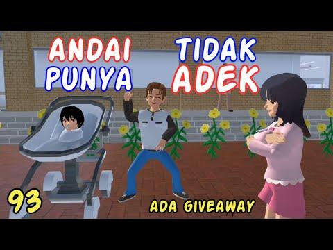 Sakura Drama Andai Aku Tidak Punya Adek Part 93 | Drama Sakura School Simulator Indonesia | SSS