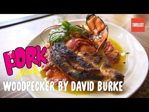 WoodFired Cricket Pizzas & Lobster Calzones  Fork Yeah: Woodpecker by David Burke