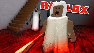 GRANNY REMAKE IN ROBLOX IS TERRIFYING! | Granny In Roblox (Roleplay)