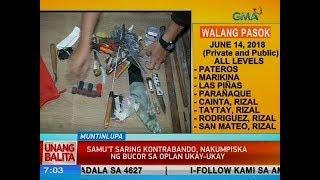 UB: Samu't saring kontrabando, nakumpiska ng BuCor sa Oplan Ukay-Ukay