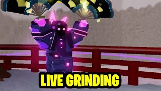 ⚔️ ROBLOX Dungeon Quest Grinding Samurai Palace Nightmare Hardcore LIVE | With Fans| ⚔️