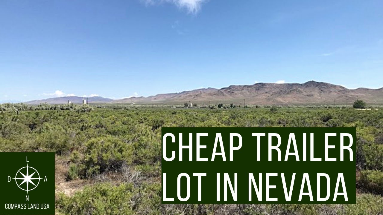 Sold by Compass Land USA - Cheap Nevada Land for Sale Perfect Trailer Spot