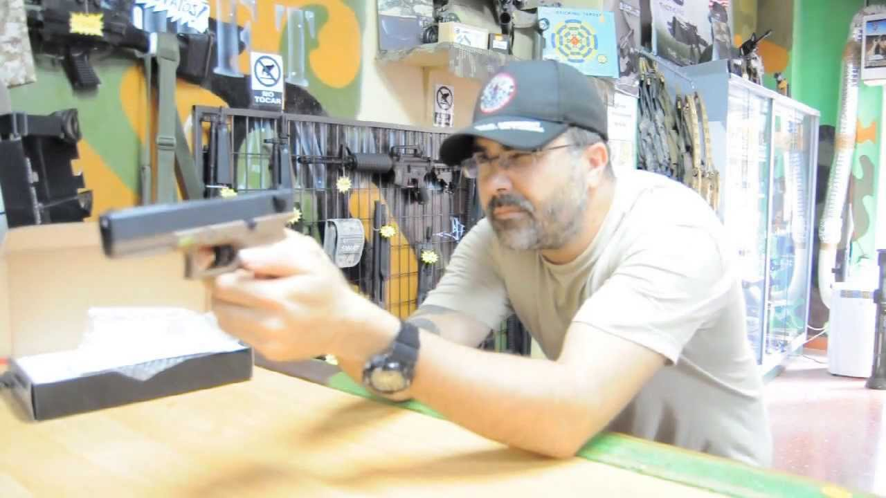 Review We Tech Glock 18C ( G18c ) By Airsoft Gandia, Airsoft Español
