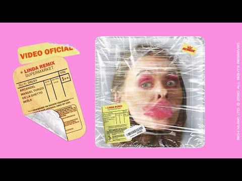 Смотреть клип Dalex, Arcángel, Manuel Turizo, De La Ghetto, Beéle - +Linda Remix