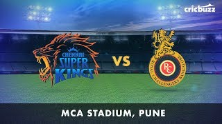 Cricbuzz LIVE: CSK vs RCB Pre-match show