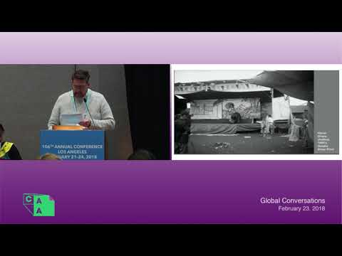 CAA 2018: Global Conversations--Border Crossings: The Migration of Art, People, and Ideas