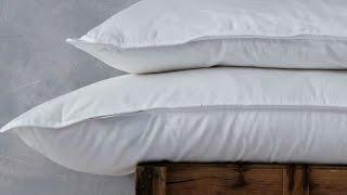 Luxury Pure Silk Pillow - Standard - Medium Firm Support