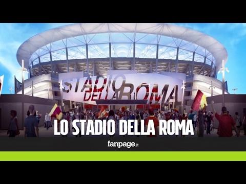 """Ecco come sarà lo Stadio della Roma: """"Il Colosseo moderno, maestoso e tecnologico"""""""