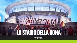 Ecco come sarà lo Stadio della Roma: