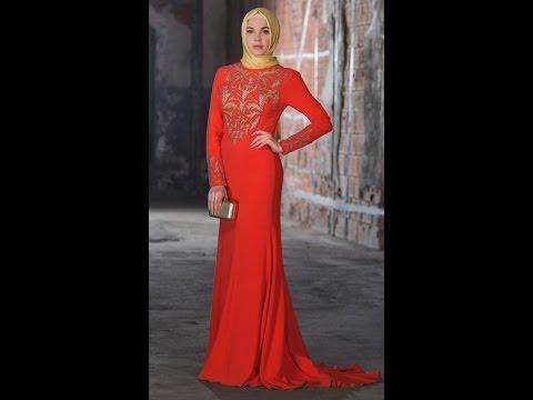 Setrms 2016 İndirimli Tesettür Abiye Elbise Modelleri