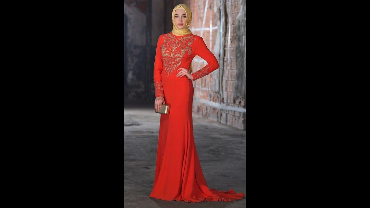 50ab8d264ba2f Setrms 2016 İndirimli Tesettür Abiye Elbise Modelleri - YouTube