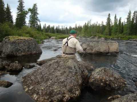 Three Rivers Lodge Labrador 2010.wmv