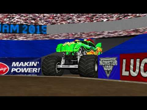 Rigs Of Rods Monster Jam Smv4 6 Review 11 Truck Frees