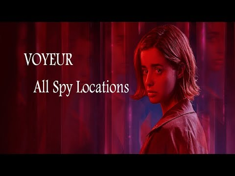 ERICA (PS4) - Voyeur Trophy - All Spy Locations