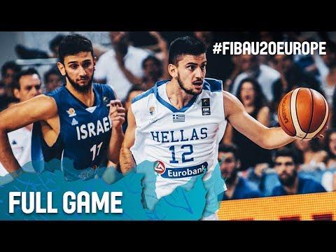 Greece v Israel - Full Game - Final - FIBA U20 European Championship 2017