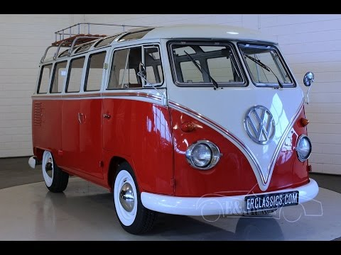 volkswagen t1 bus 1972 video youtube. Black Bedroom Furniture Sets. Home Design Ideas