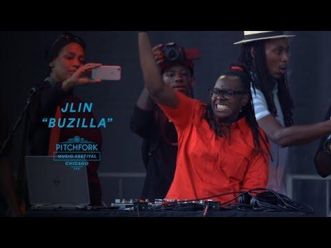 Jlin performs