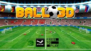 Ball 3D: Soccer Online (Free to Play) - Gameplay - PC HD [1080p]